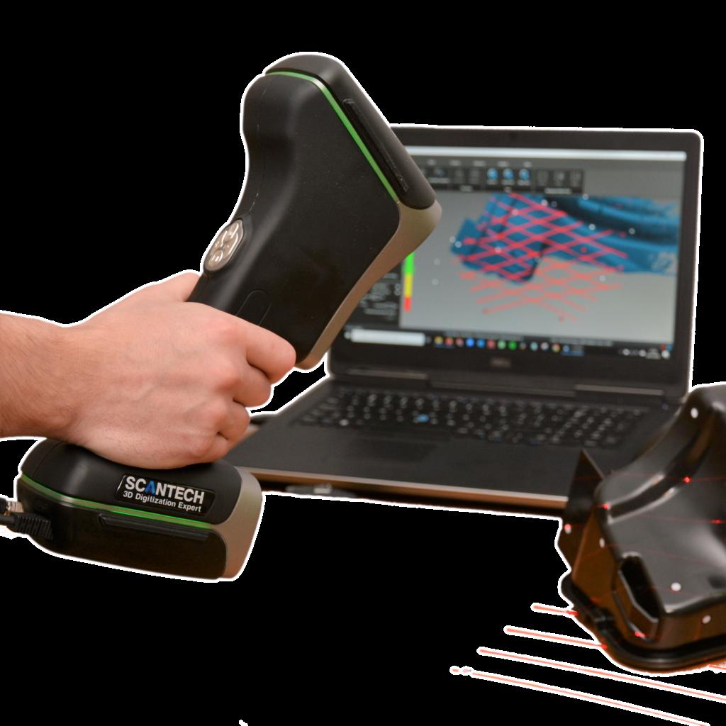Skanowanie 3D zbiornika Skanerem 3D KSCAN20