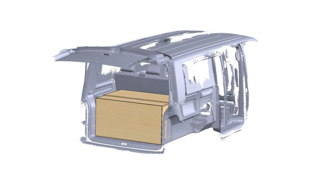 Inżynieria Odwrotna - przygotowanie zabudowy vana