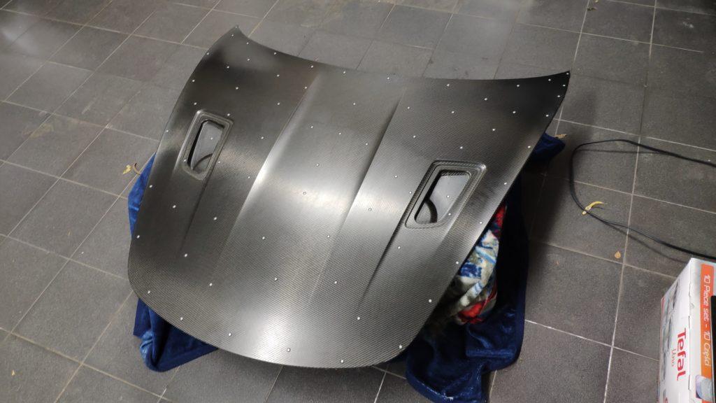 inżynieria odwrotna maski samochodowej za pomocą skanera 3D