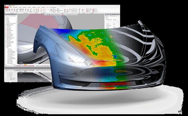 Geomagic Design X - Inżynieria Odwrotna