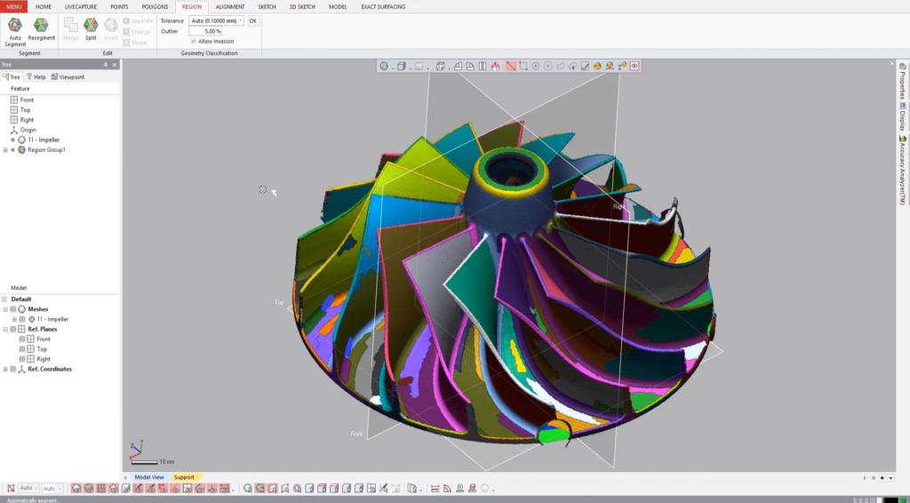 Inżynieria Odwrotna GeoMagic Design X