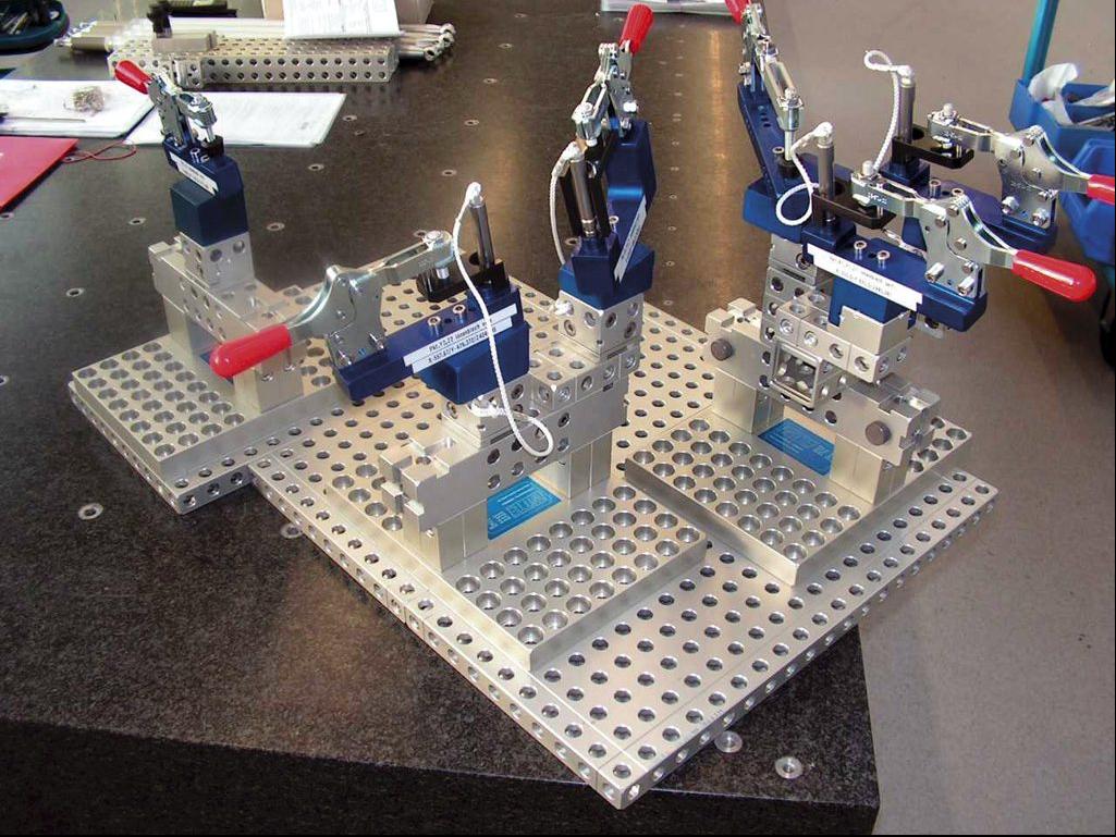 witte alufix modular fixturing system retooling